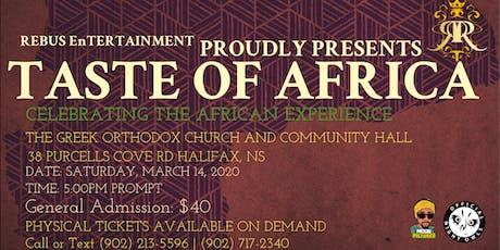 Taste of Africa 2020 tickets