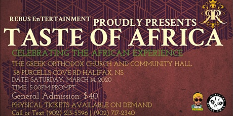 Taste of Africa 2020 tickets