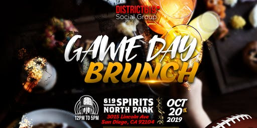 District 619 Social Group presents: Game Day Brunc