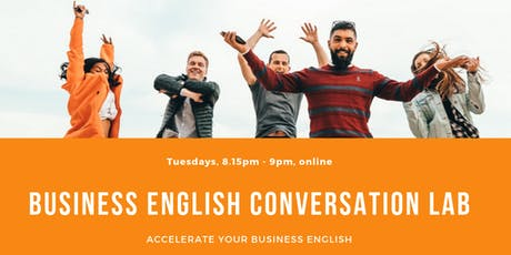 Business English Conversation Lab tickets