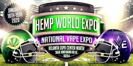 National Vape Expo & HempWorld Expo Atlanta tickets