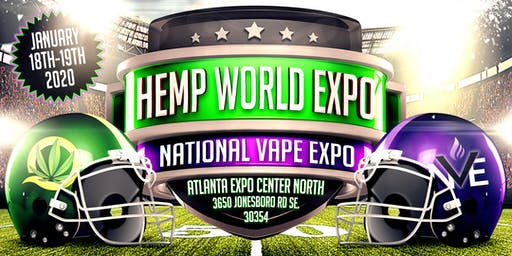 National Vape Expo & HempWorld Expo Atlanta