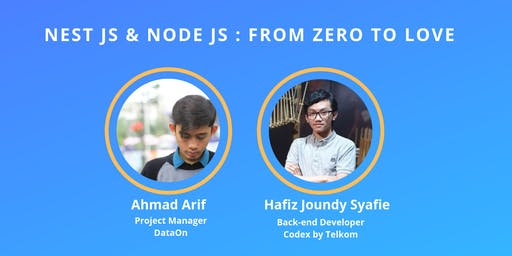 Developer Talks #11- Nest JS & Node JS : From Zero to Love