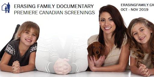 Erasing Family Vancouver Premiere Screenings