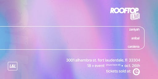 Rooftop Live: October
