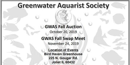 Greenwater Aquarist Society Fall Auction