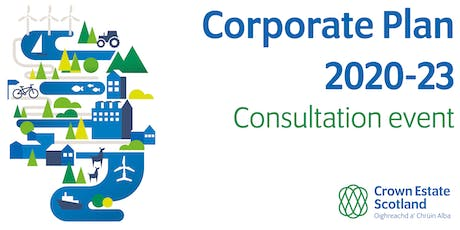 Crown Estate Scotland: Draft 2020-23  Corporate Plan consultation tickets
