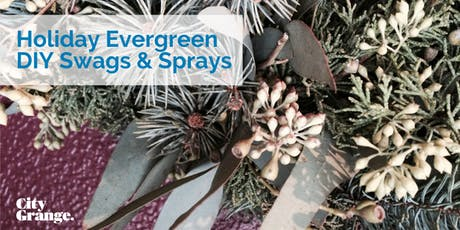 Holiday Evergreen DIY Swags & Sprays tickets