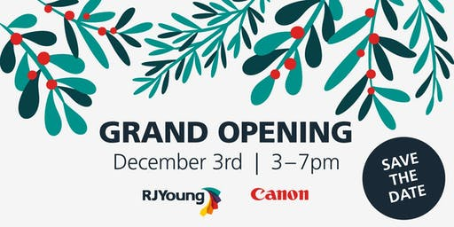 RJ Young Grand Opening