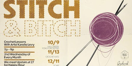 Stitch & Bitch with Karelle Levy tickets