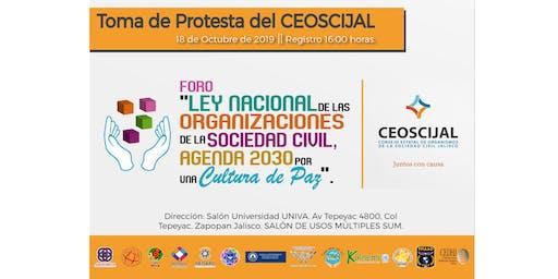 Foro Ley Nacional de las OSC, Agenda 2030 por una Cultura de Paz