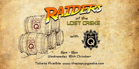 Raiders of the Lost Casks tickets