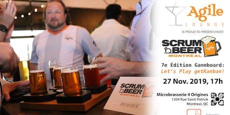 Scrum Beer Montréal #7 - Let's Play getKanban! tickets
