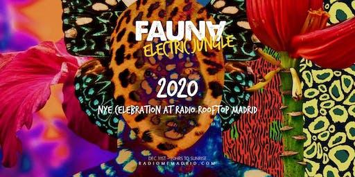 FAUNA ELECTRIC JUNGLE NYE 2020 AT RADIO ROOFTOP