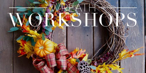 Wreath Workshop! October 21st at Rustech Monticello MN