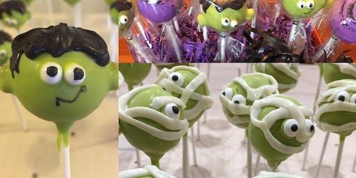 Cake Pop Class: Halloween Style
