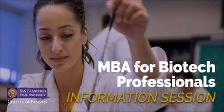 MBA Information Session for Biotech Professionals in South San Francisco tickets