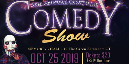 5th Annual HALLOWEEN COMEDY NIGHT BYOB!!! BETHLEHEM, CT