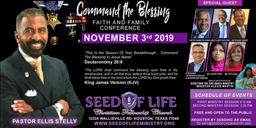 Command the Blessing * Faith & Family Conference 2019