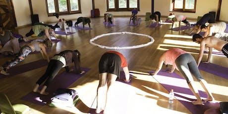 Inauguración Escuela Yoga Tierra entradas