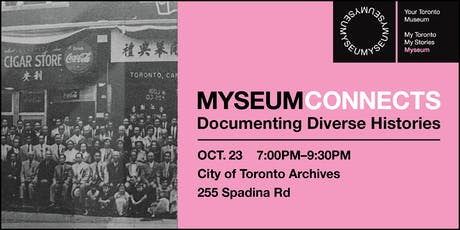 Myseum Connects: Documenting Diverse Histories tickets