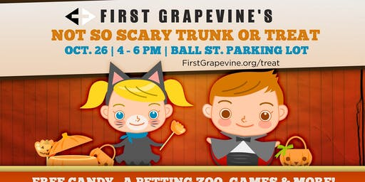 Not So Scary Trunk Or Treat