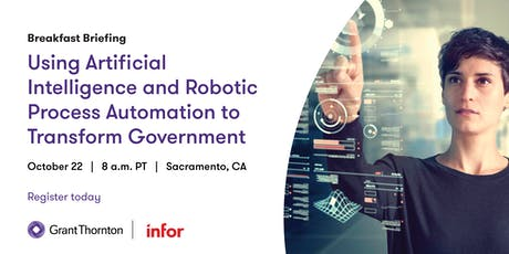 Using Artificial Intelligence and Robotic Process Automation to Transform Government tickets