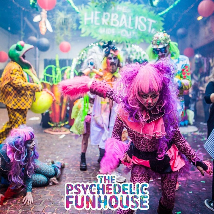 Psychedelic Funhouse Rave New Years Eve London image
