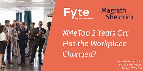 #MeToo 2 Years On: Has the Workplace Changed? tickets