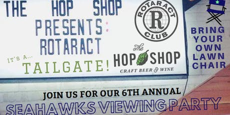 Yakima Rotaract's 6th Annual Seahawks Viewing Party tickets