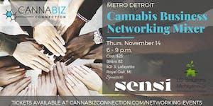 Metro Detroit Cannabiz Connection Networking Mixer