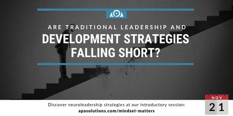 Leading with the Brain in Mind: Neuroleadership Session tickets