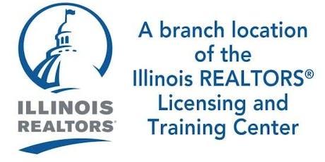 30 Hour Post License Real Estate Course - Geneva  - Illinois REALTORS® tickets
