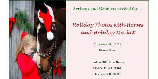 2019 Holiday Photos with Horses & Christmas Market - Vendors