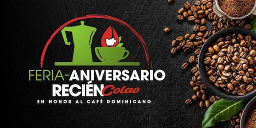 Feria-Aniversario en Honor al Café Dominicano