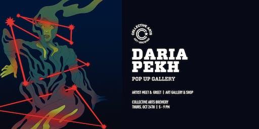Daria Pekh Artist Pop-Up