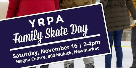 YRPA Family Skate Day tickets
