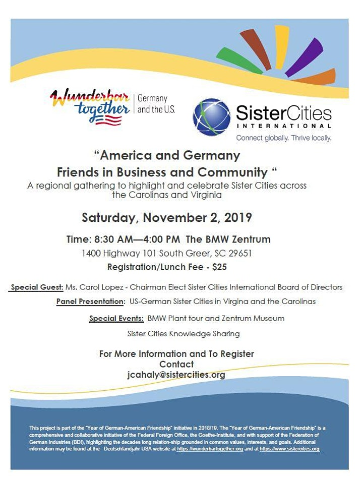 America and Germany: Friends in Business and Community image