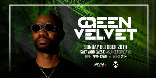 #SUNSETSUNDAYS: Green Velvet (Albuquerque, NM)
