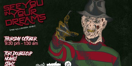 Dreams 2 Reality Presents... See You in Your Dreams Halloween Party tickets