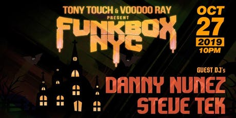 Funkbox Oct 27 tickets