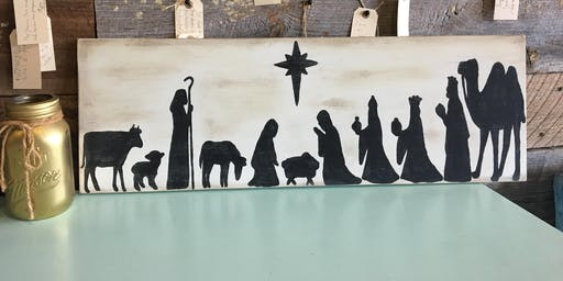 Nativity Board Afternoon