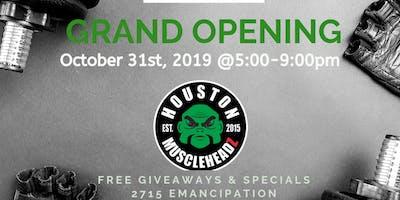 Muscleheadz Houston Grand Opening