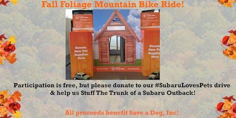 Fall Foliage Mountain Bike Ride with MetroWest Subaru! tickets