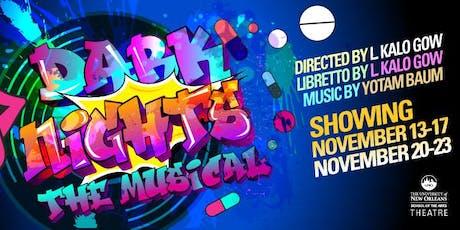 Dark Nights: The Musical tickets