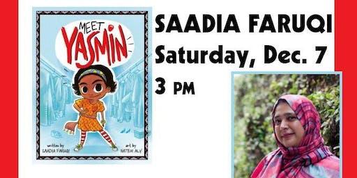 Meet Saadia Faruqi Author of the Award-Winning Yasmin series!