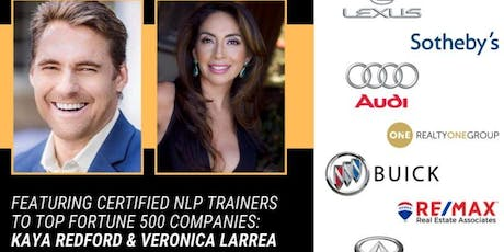 NLP Sales Training with Kaya Redford and Veronica Larrea tickets