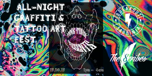 ALL-NIGHT GRAFFITI & TATTOO ART FEST