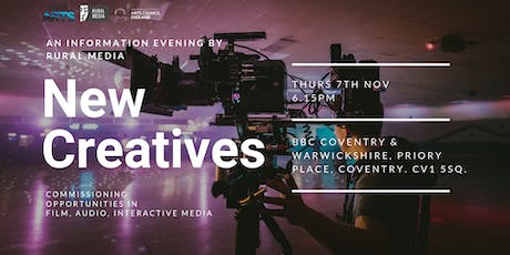 New Creatives Information Evening tickets