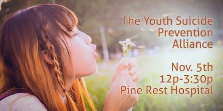 Regional Youth Suicide Prevention Alliance-Novemeber 5 2019 tickets